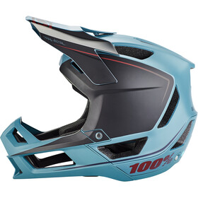 100% Trajecta Helmet slate blue